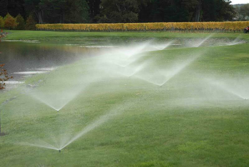 Pop-up garden sprinklers