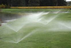 Pop-up garden sprinklers