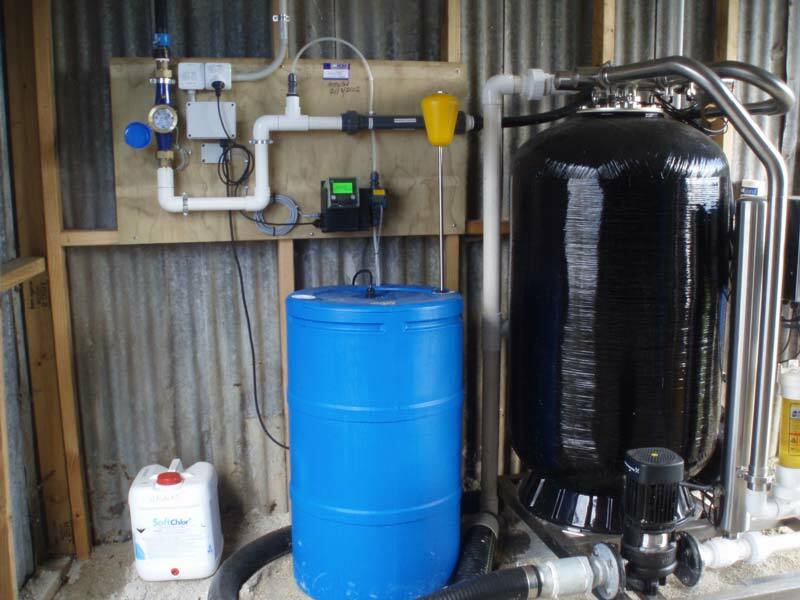 Waterforce Iron and Manganese Removal Installation