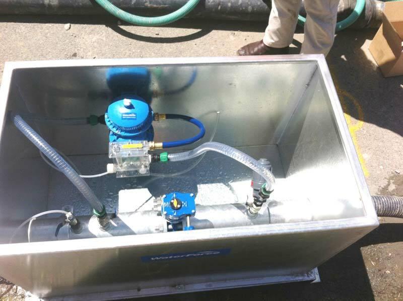 Waterforce Dosing Skid Set Up
