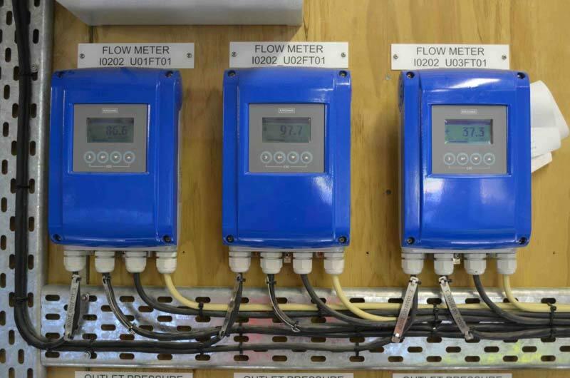 Pumping flow meters