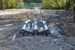 Pumping air valves