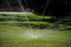 Pop-up lawn sprinklers
