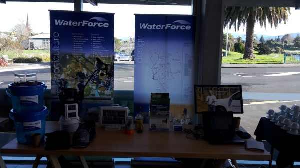 WaterForce attends the Organic Wine Growers of NZ Conference